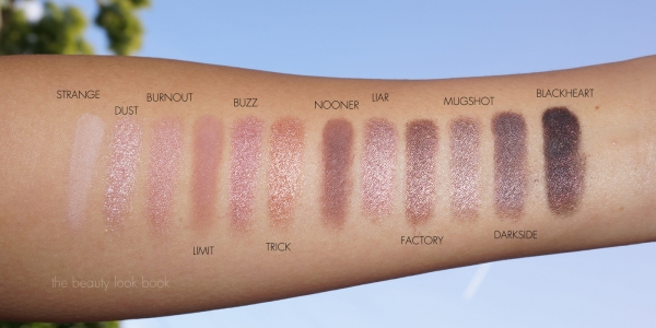 UD NAKED3SWATCHES